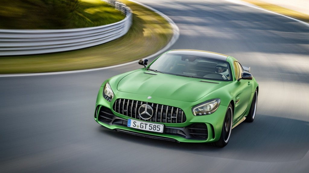 Straight out of Green Hell: Mercedes-AMG onthuld de GT R