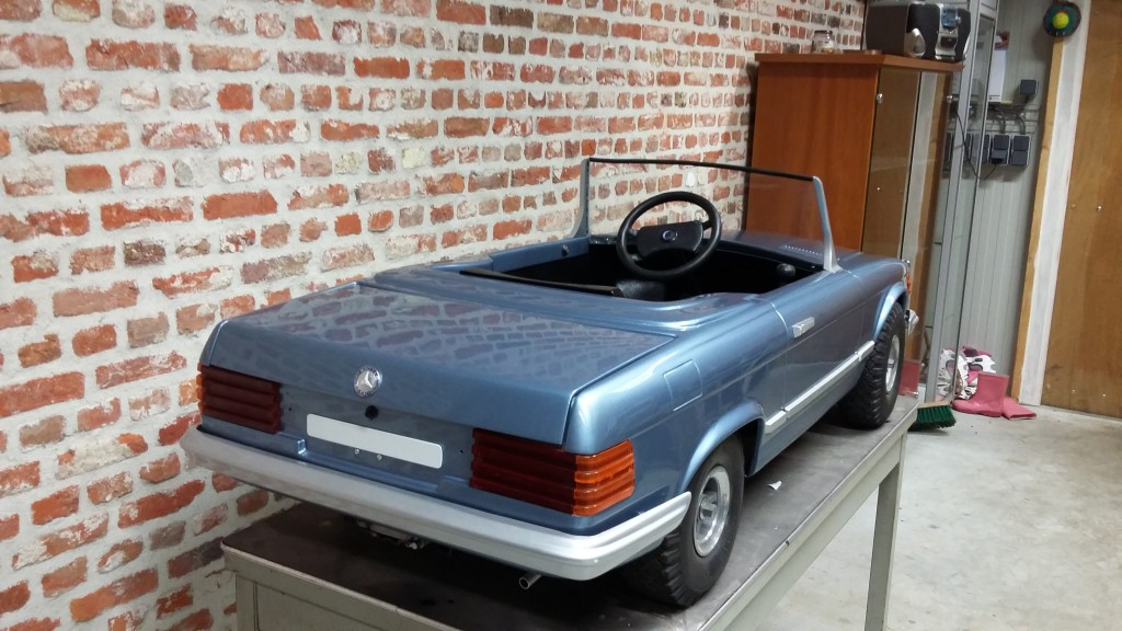 Mercedes Mini Sl 500 Lorinser 1980 Mercedesforum Nl Be