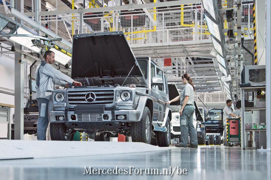 Legende-wagen: De Mercedes G-Klasse - MercedesForum nl/be