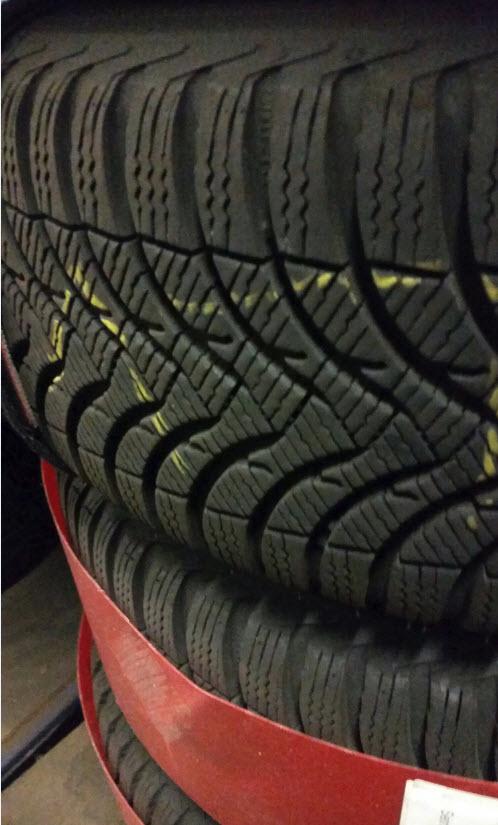 Michelin Mo Winterbanden Mo Stalen Velgen 20555 R16 91 W203