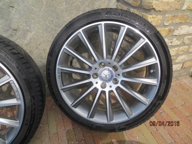 19 Inch Amg Velgen Voor W205 Mercedesforumnlbe