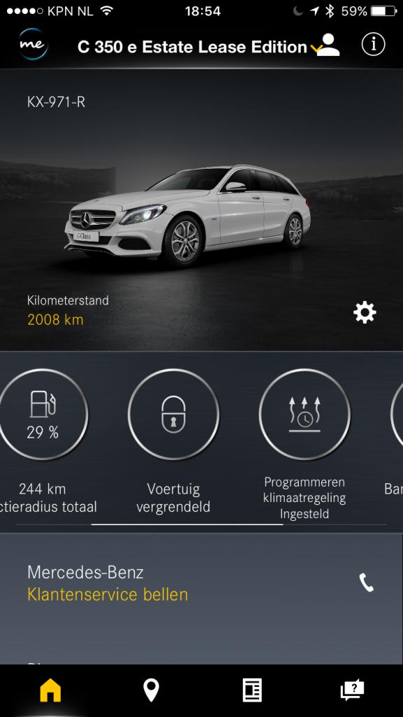Programmeren Klimaatregeling Via Mercedes Me Ios App Mercedesforum