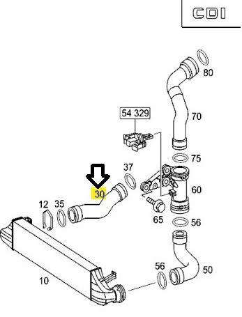 W203 220 CDI, noodloop door te hoge turbodruk