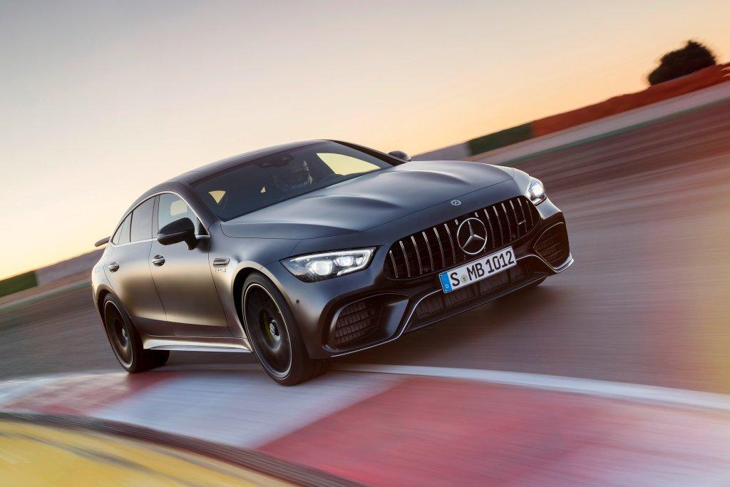 Mercedes-AMG breidt de GT reeks uit met AMG GT 4-Deurs Coupe