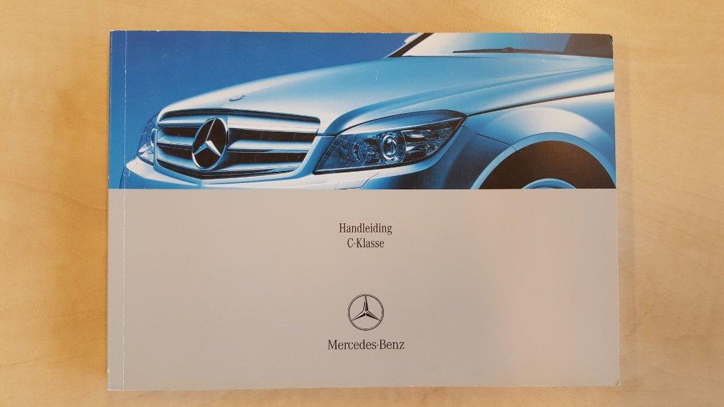 Ongekend Handleiding Mercedes C Klasse - MercedesForum.nl/be RR-08