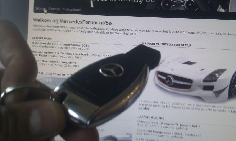 W203 Sleutel Bijmaken C180 Bj2002 Pagina 2 Mercedesforum Nl Be