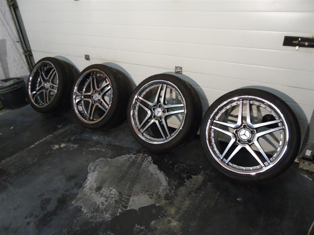 Te Koop 20 Breedset Velgen Van Een W220 Mercedesforum