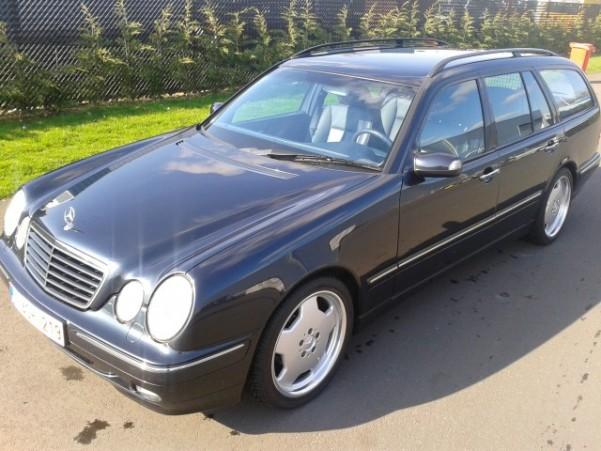 Mercedes W210 E Klasse Break 200 Kompressor
